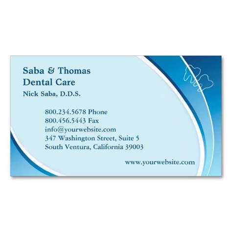 dentist business card template 17 best images about appointment business card templates