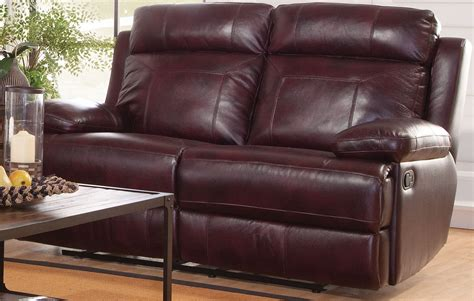 Burgundy Loveseat by Mansfield Burgundy Reclining Loveseat L6807 20 Bbr New