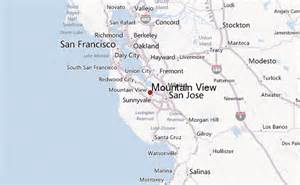 map of mountain view california opinions on mountain view santa clara county california