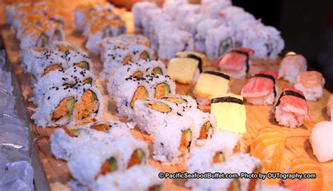 all you can eat sushi at pacific seafood buffet