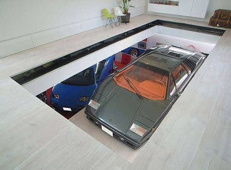 Elevator Garage by Garage Elevator Allows You To Switch Out Your Lamborghinis