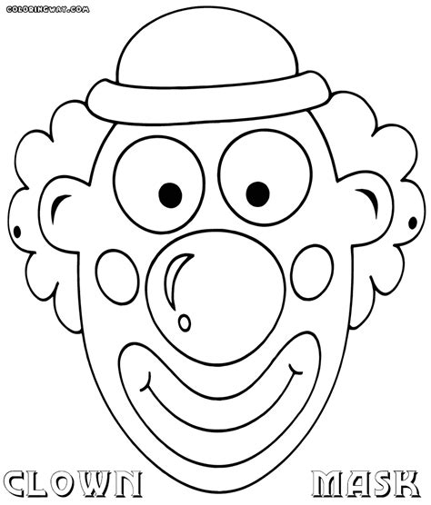 mask coloring pages mask coloring pages coloring pages to and print