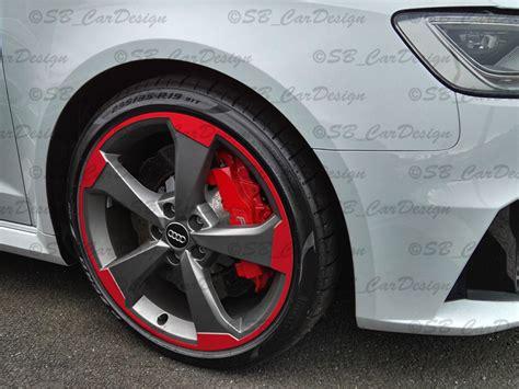 Windschutzscheibe Aufkleber Audi by 8 8 5x19 Zoll Felgen Aufkleber F Vw Audi 5 Arm Rotor 2