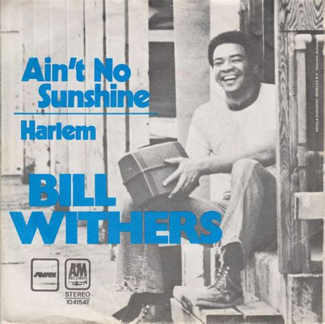 ain t no sunshine bill withers ain t no sunshine vinyl at discogs