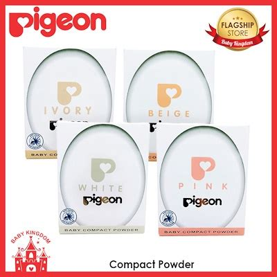 Pigeon Compact Powder Hypoallergenic qoo10 pigeon compact powder baby maternity