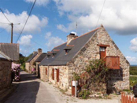bretagne haus landkarte luftbild bretagne ferienhaus in kertanguy