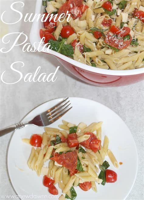 recipe of the week summer pasta salad fundcraft delicious summer pasta salad recipe a new dawnn