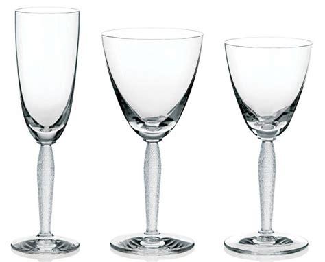bicchieri lalique bicchiere vino argenteria dabbene liste nozze
