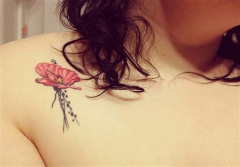 25 small flower tattoos creativefan