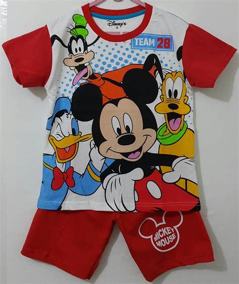 Setelan Mickey Disney setelan mickey n friends 1 6 disneys grosir eceran