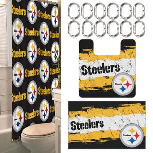 steelers bathroom nfl pittsburgh steelers bathroom set