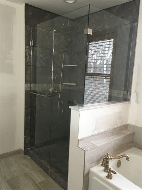Tinted Shower Doors J A Glass Custom Shower Glass Frosted Tinted Clear Shower Glass Installation Repair