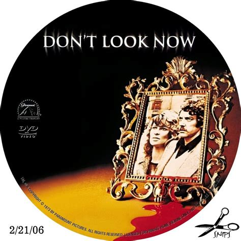 Don T Look The Bed Dvd by Don T Look Now Custom Dvd Labels Don T Look Now 001