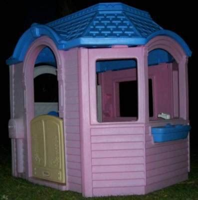 Little Tikes Victorian Cottage Pink Playhouse In S Ca Tikes Pink Cottage