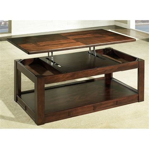 Lifttop Coffee Table Somerton Serenity Lift Top Coffee Table In Rich Burgundy 415 15