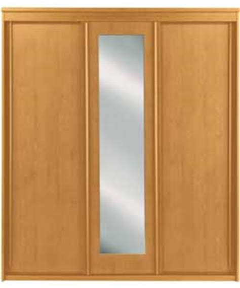Pine Sliding Door Wardrobes vancouver 3 sliding door mirrored wardrobe pine review compare prices buy
