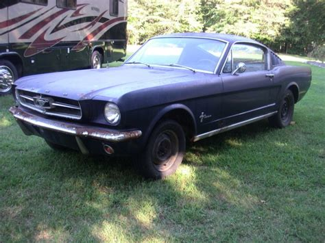 1965 mustang project car for sale 1965 ford mustang fastback project car car shopper