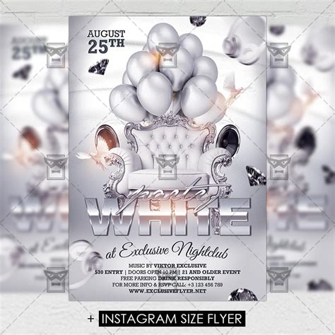 white flyer template free white premium a5 flyer template exclsiveflyer