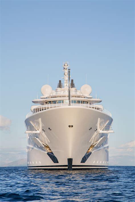 gigantic big  large luxury mega  super motor yacht