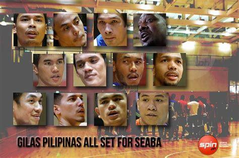 Mba Player Pilipinas by Jalalon Wright Pogoy Maliksi Almazan Are New Faces In