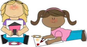 kids coloring clip art kids coloring image