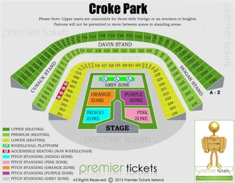 croke park interactive seating plan croke park announcement monday at 11 45am boards ie