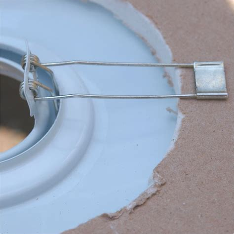 recessed lighting spring clips downlight converter mains available in four finishes