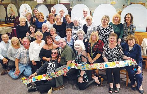 Celebrates Birthday With Class by 70th Birthday For Pahs Class Of 65 The Amboy Guardian