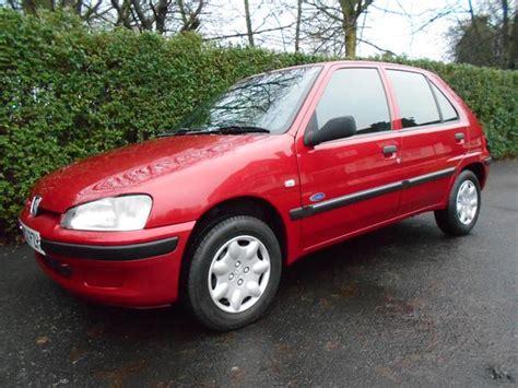 2002 peugeot 106 1 1 zest 5 door low mileage ideal