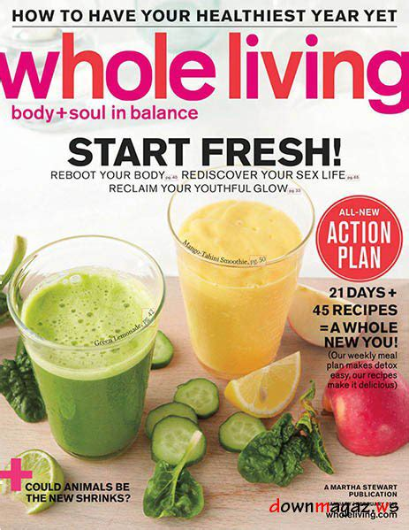 Whole Living Detox 2012 by Press My New Roots