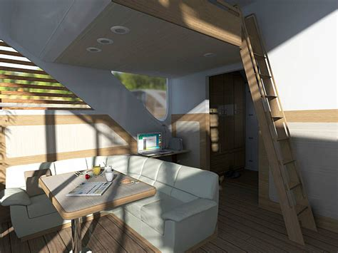 floating hotel with catamaran apartments by salt water the floating hotel salt water arch2o