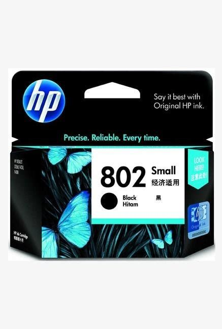 Cartridge Hp 802 Color hp 802 small pack single color ink black best price