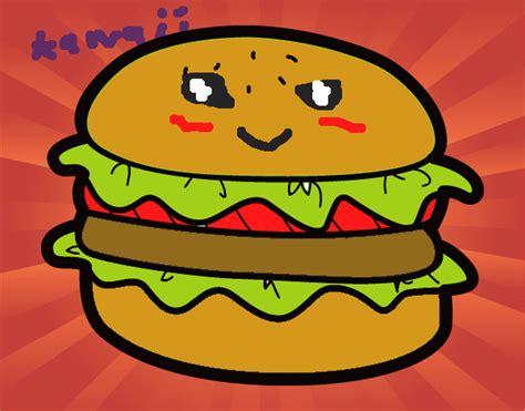 imagenes de hamburguesas kawaii dibujo de hola me llamo adilene y es una hamburguesa muy