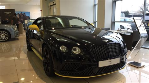 bentley black interior 2017 bentley continental gt speed black edition exterior