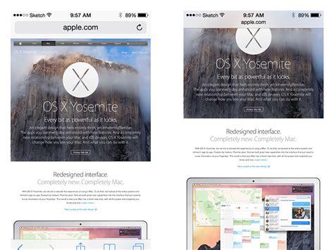 safari web browser mobile mobile safari ui browser sketch freebie free