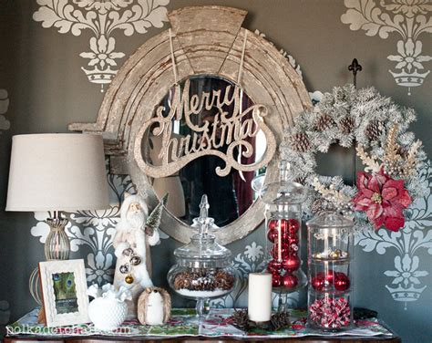 vintage quot ish quot christmas display christmas decorating ideas