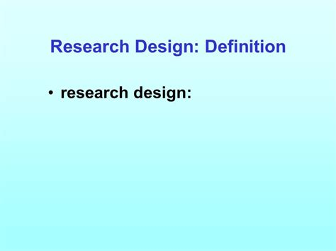 design definition in advertising figure 3 1 relationship of research design to the