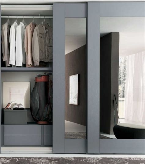 Mirrored Sliding Closet Doors Sliding Mirror Wardrobe Transform Your Bedroom Instantly Small Room Decorating Ideas