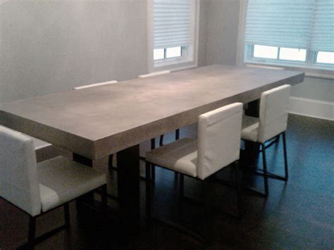 Concrete Dining Room Table by Zen Concrete Table Dining Tables New