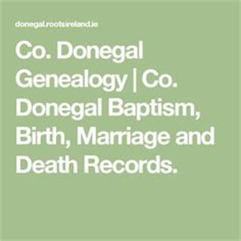 Donegal Birth Records 1000 Images About Genealogy Resources On Genealogy Ancestry And Scotland