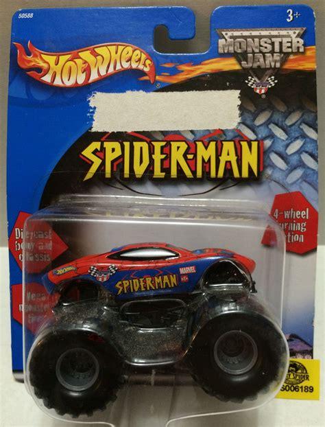 mattel jam trucks tas032314 mattel wheels jam spider die