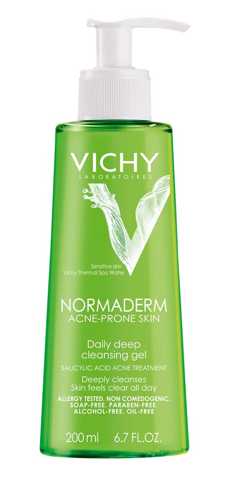 Detox Water For Acne Prone Skin by Vichy Normaderm Daily Cleansing Gel