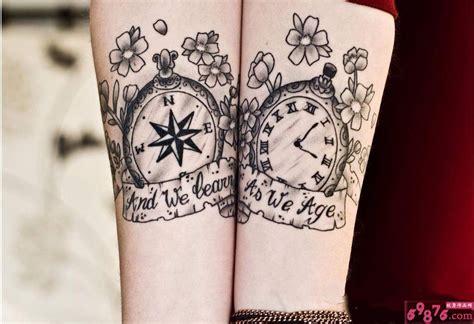 指南针纹身图案图片 指南针纹身图案图片下载