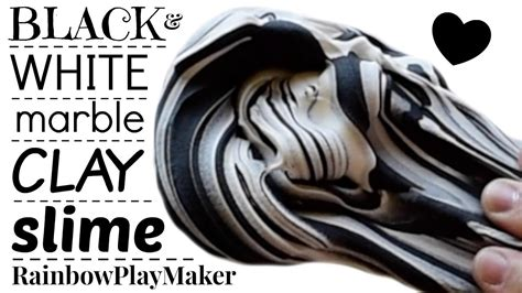 I Clay Slime Black 100cc diy black white butter slime clay mixing easy