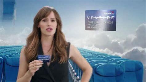 capital one venture card commercial capital one venture card tv spot seats ft jennifer