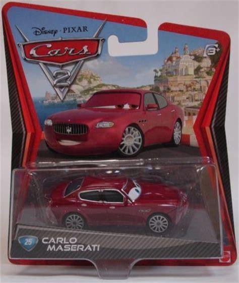 cars modellini cars 2 mattel carlo maserati 25