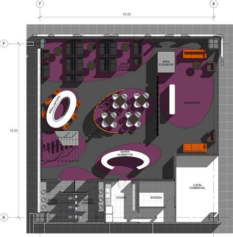 lounge floor plan aeccafe archshowcase