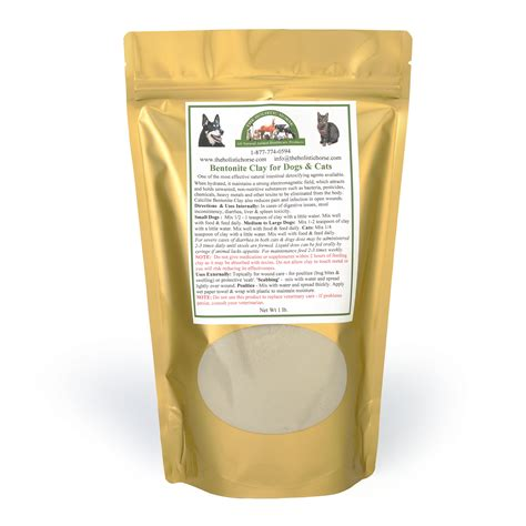 Bentonite Clay Detox For Cats by Bentonite Clay For Dogs 1 Lbs
