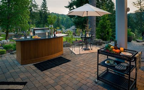 custom outdoor kitchen by paradise restored landscaping flickr outdoor kitchens paradise restored landscaping