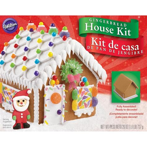 gingerbread house making kit wilton 2104 1915 fully assembled gingerbread house kit who said nothing in life is free
